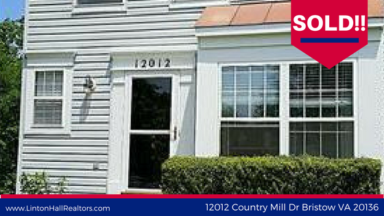 SOLD: 12012 Country Mill Dr Bristow VA 20136